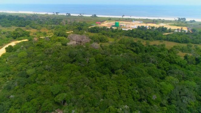 Aerial view of the AAOG Congo site; Source: AAOG
