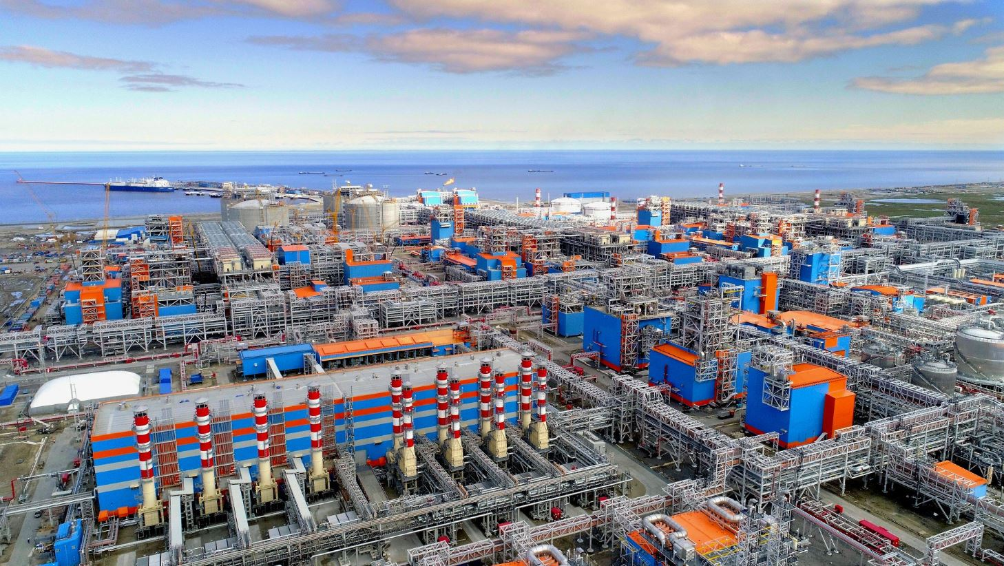Yamal LNG project in Russia