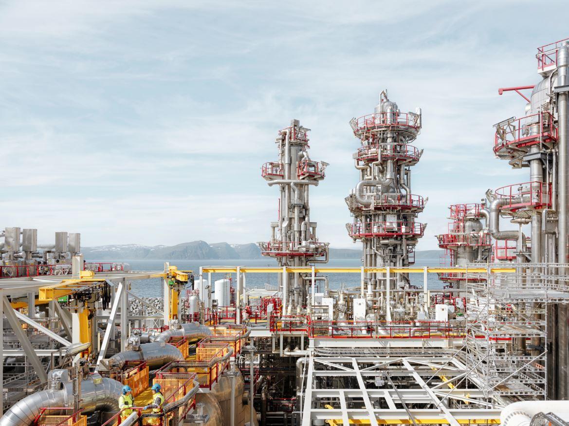Hammerfest LNG terminal