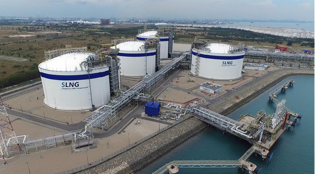 Singapoe LNG terminal