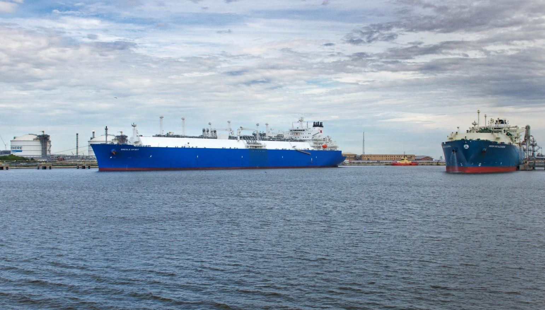 Cheniere Energy LNG terminal
