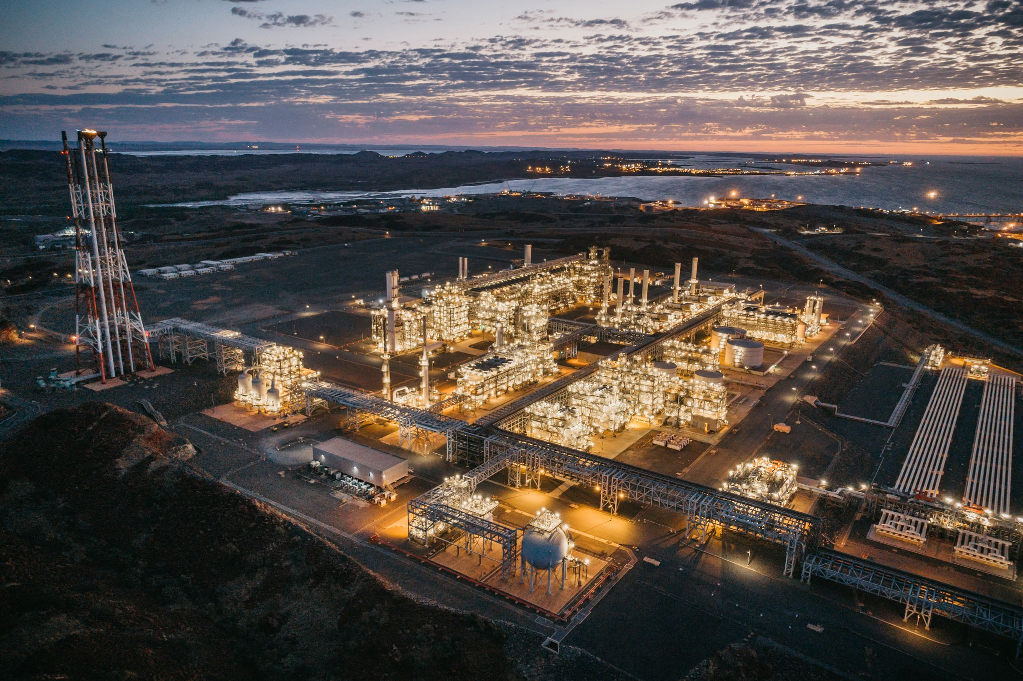 Woodside's Pluto LNG plant