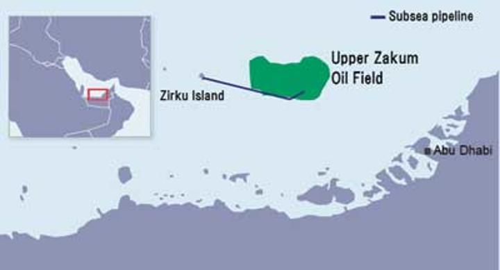 Location of Zirku island