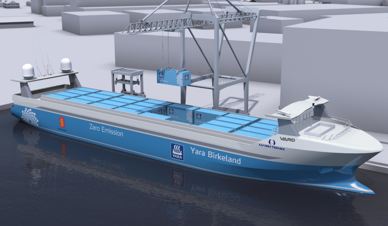 Development of the world's 1st zero emissions, autonomous feeder halted due to COVID-19 - Offshore Energy