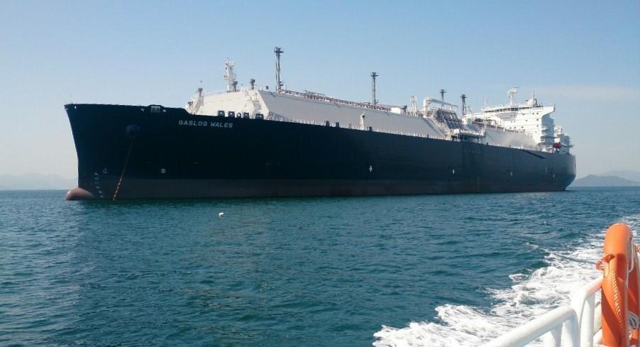 GasLog Wales LNG carrier