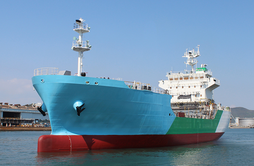 Kawasaki launches Japan's first LNG bunkering vessel