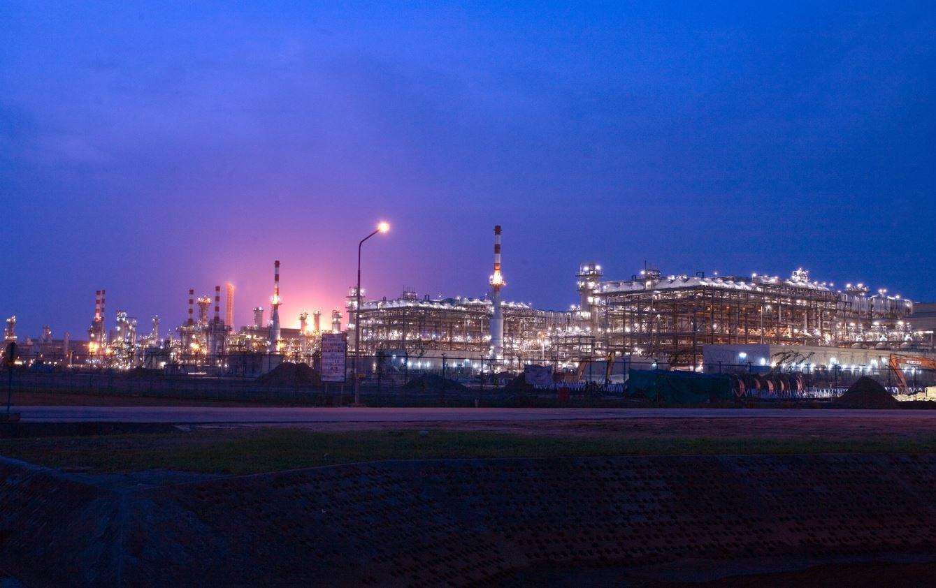 Nigeria LNG plant