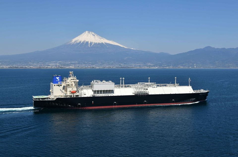 Japan's spot LNG prices below $3 per mmBtu in April