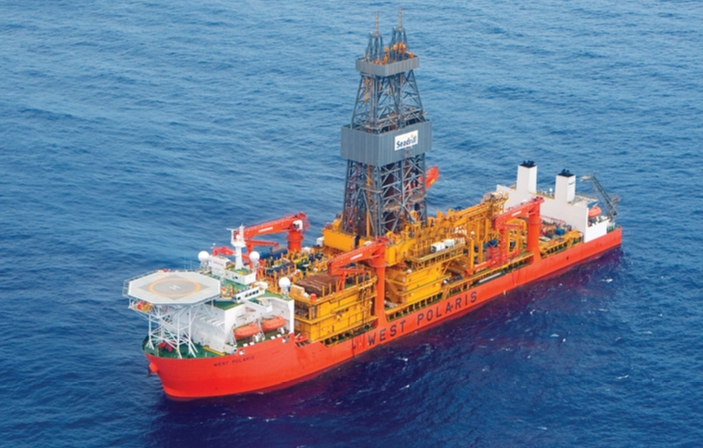 West Polaris drillship