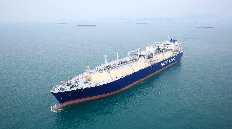 LNG carrier SCF Mitre