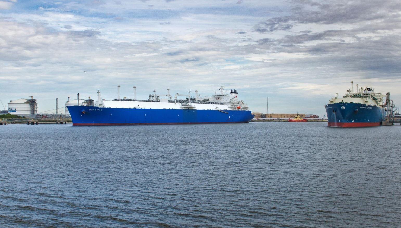 Cheniere LNG terminal