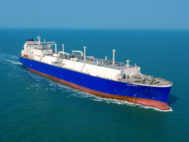 Elisa Larus LNG carrier