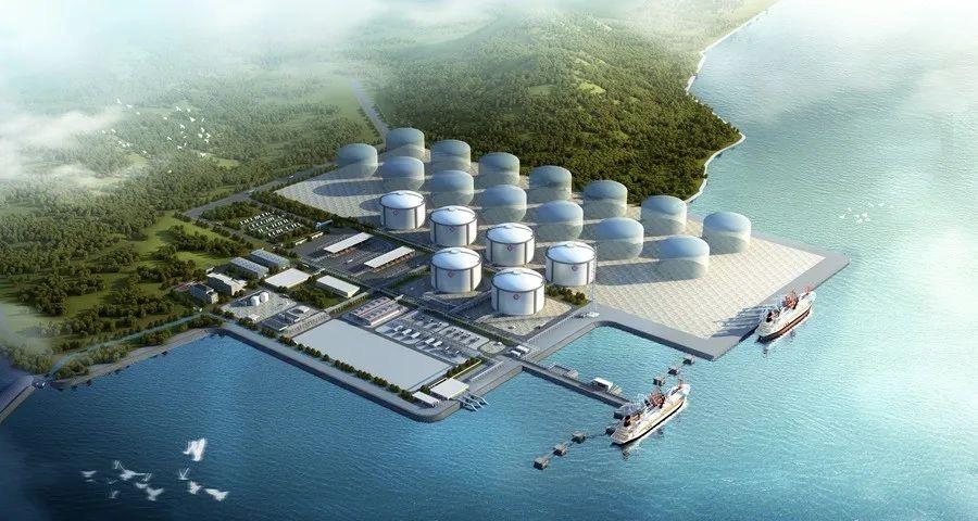 Longkou LNG terminal