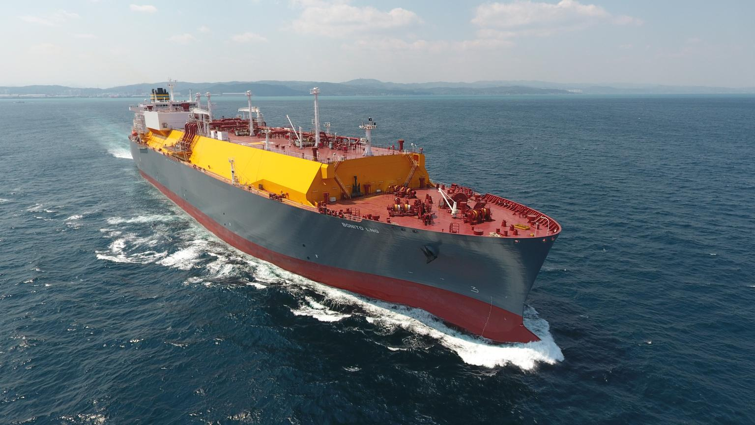 Bonito LNG carrier