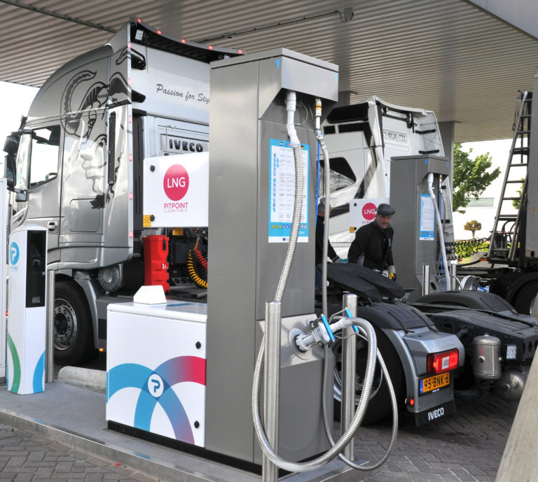 PitPoint opens rebuilt Zwolle LNG fueling station