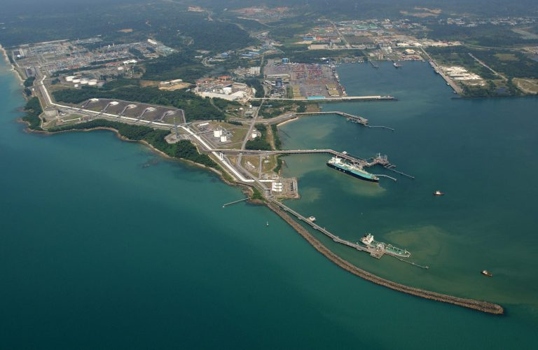 Bintulu LNG plant