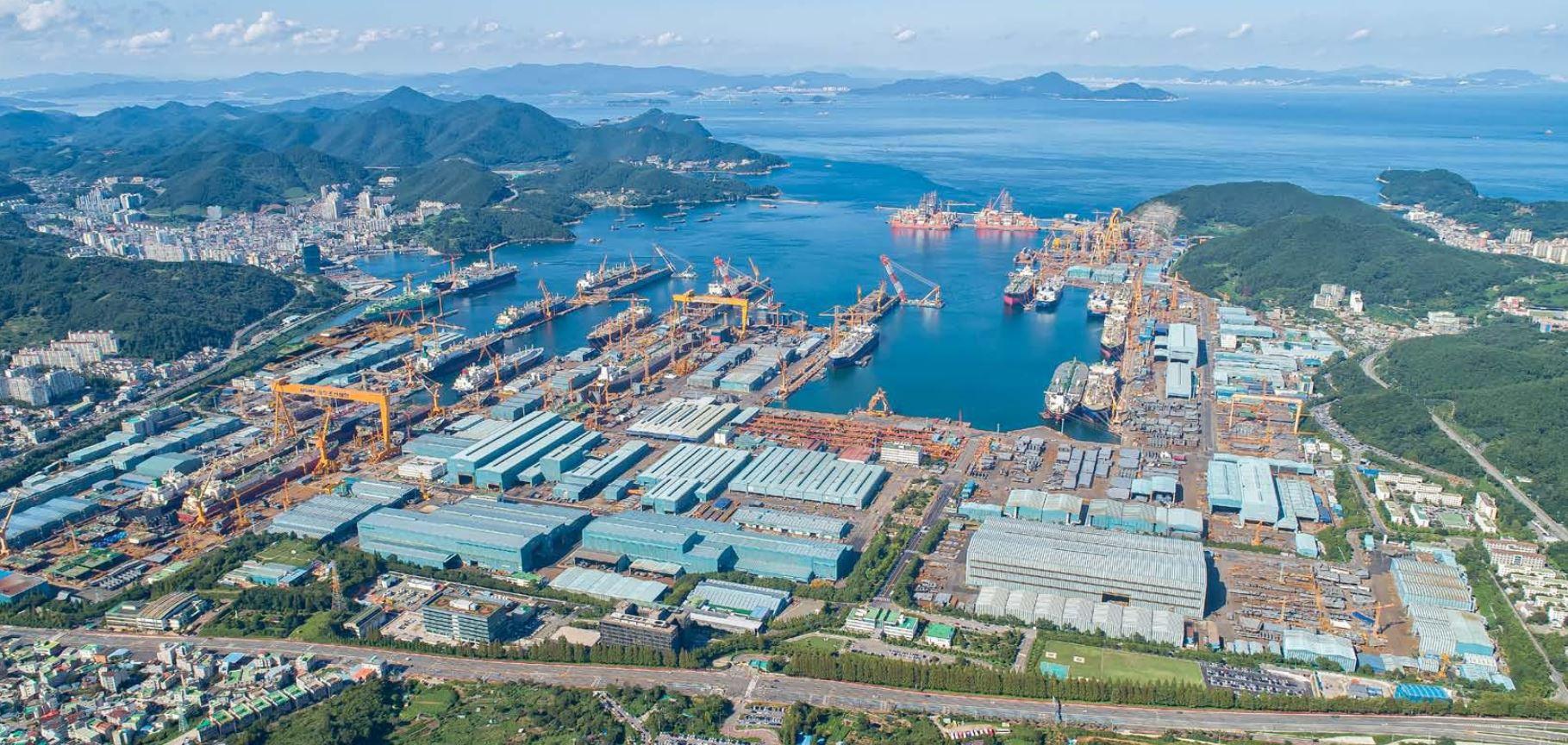 DSME shipyard