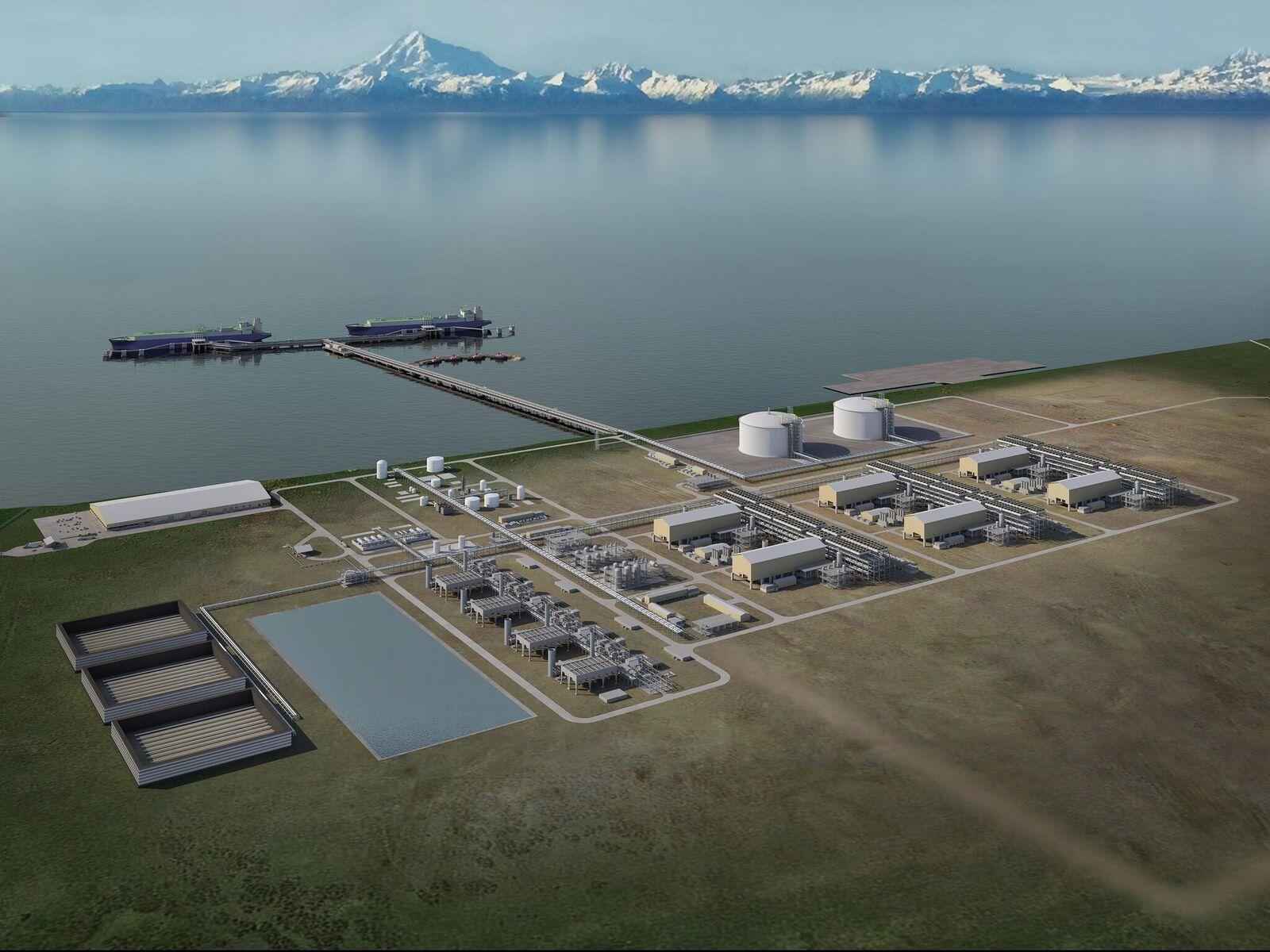 Alaska LNG plant