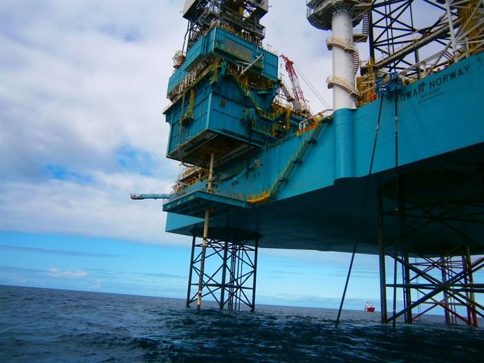 Rowan Norway rig