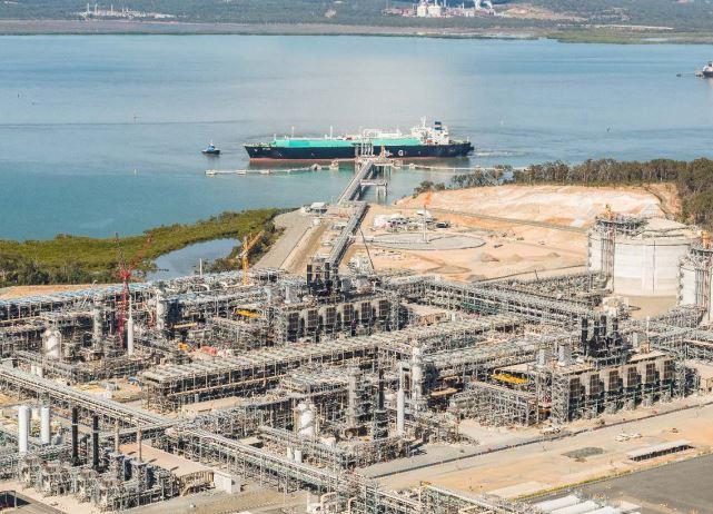 Santos GLNG plant