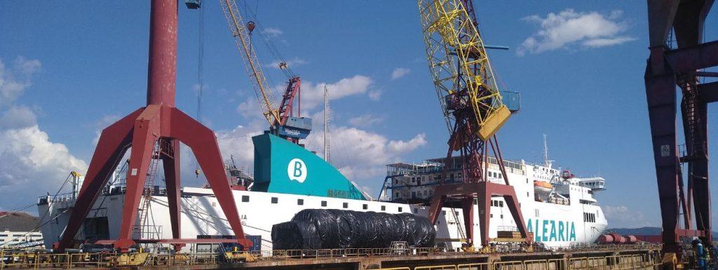 Balearia LNG ferry Sicilia