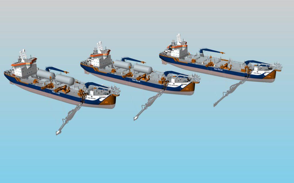 Van Oord LNG-powered dredgers