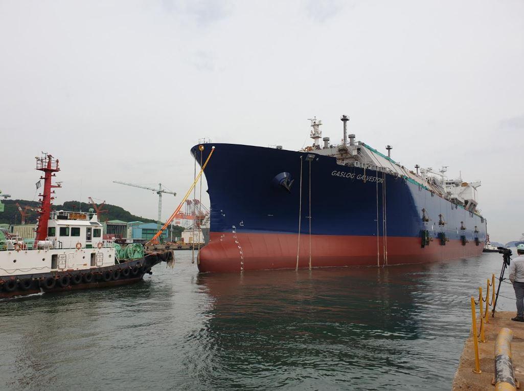 LNG carrier GasLog Galveston
