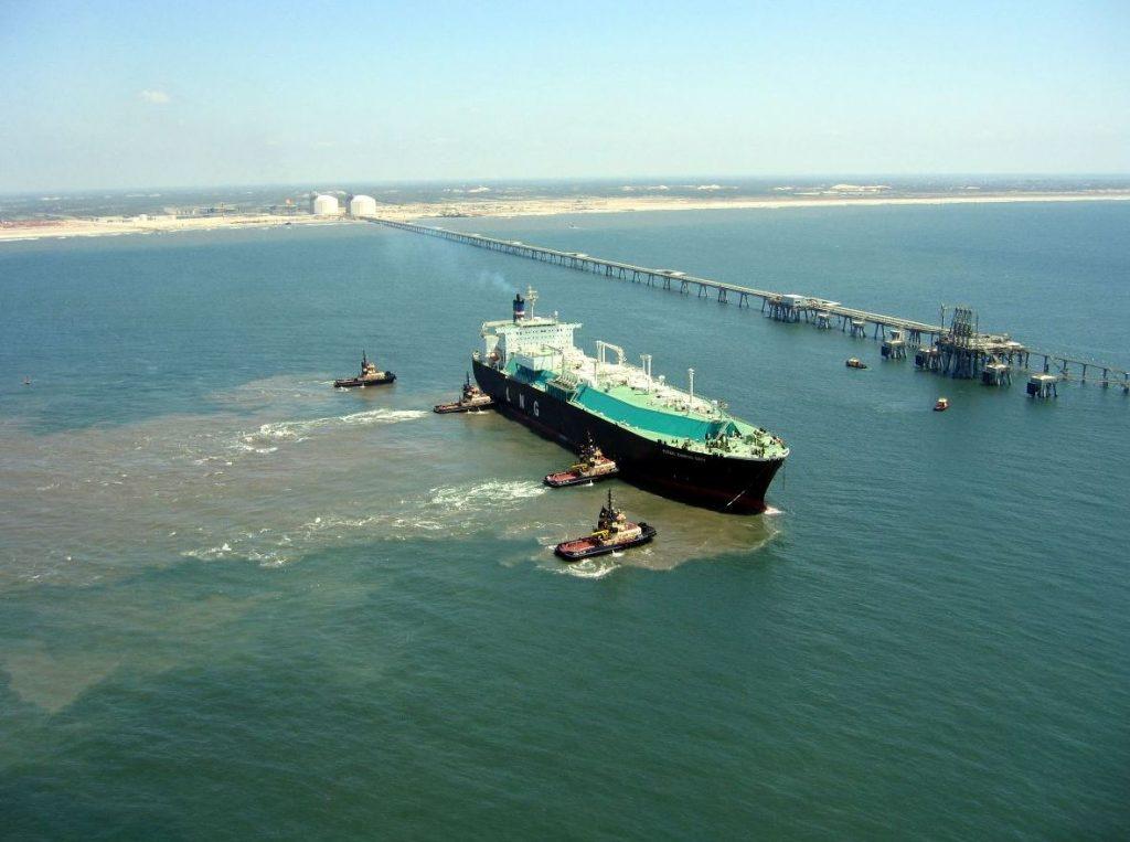 Idku LNG plant
