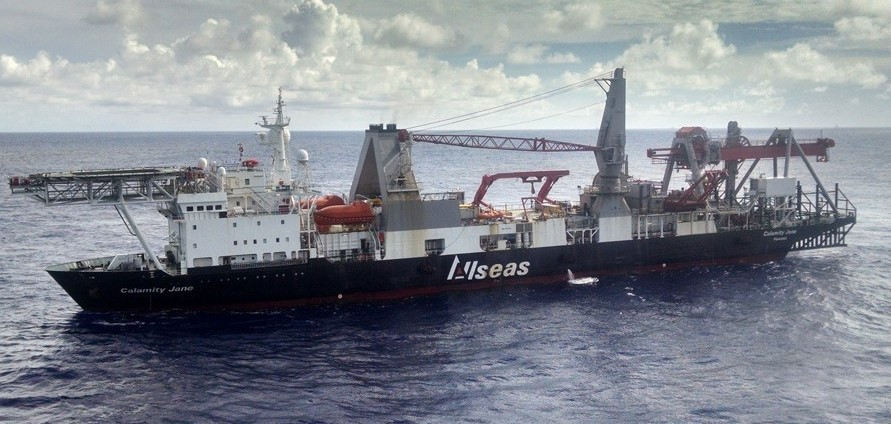 Calamity Jane vessel; Source: Allseas