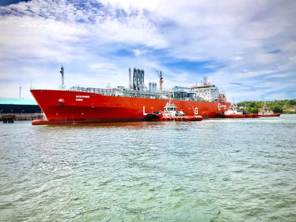 CNTIC VPower Global LNG vessel
