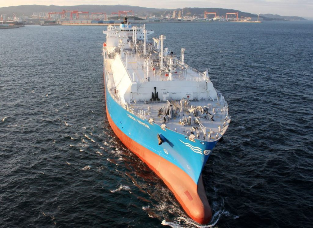 LNG carrier Lena River