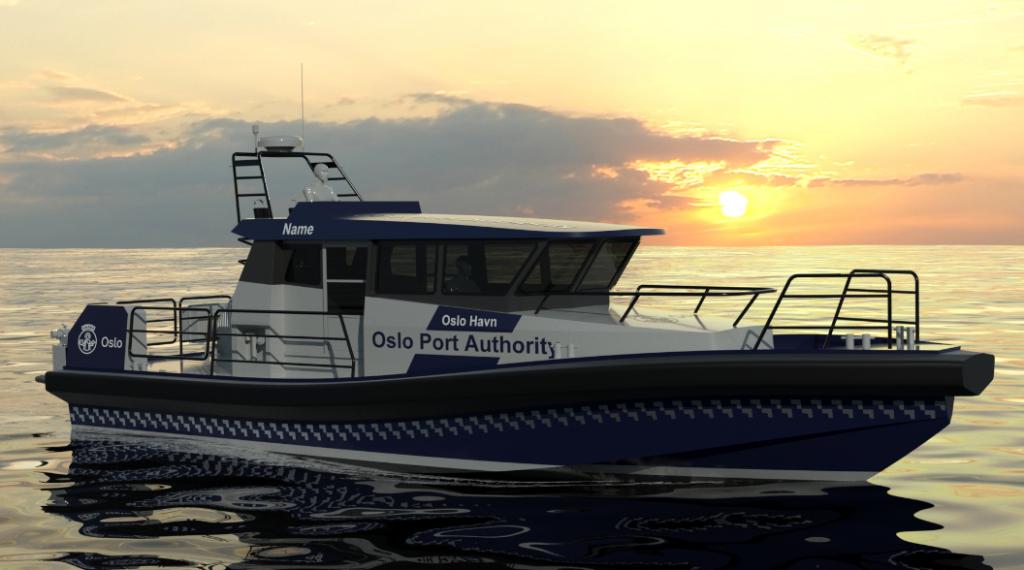hybrid patrol boat