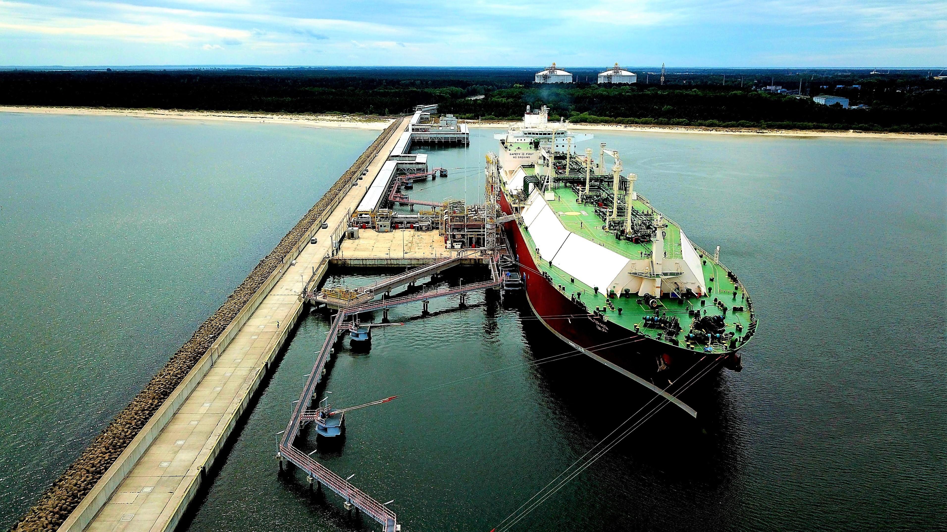 Poland's Swinoujscie terminal receiving its 97th LNG cargo