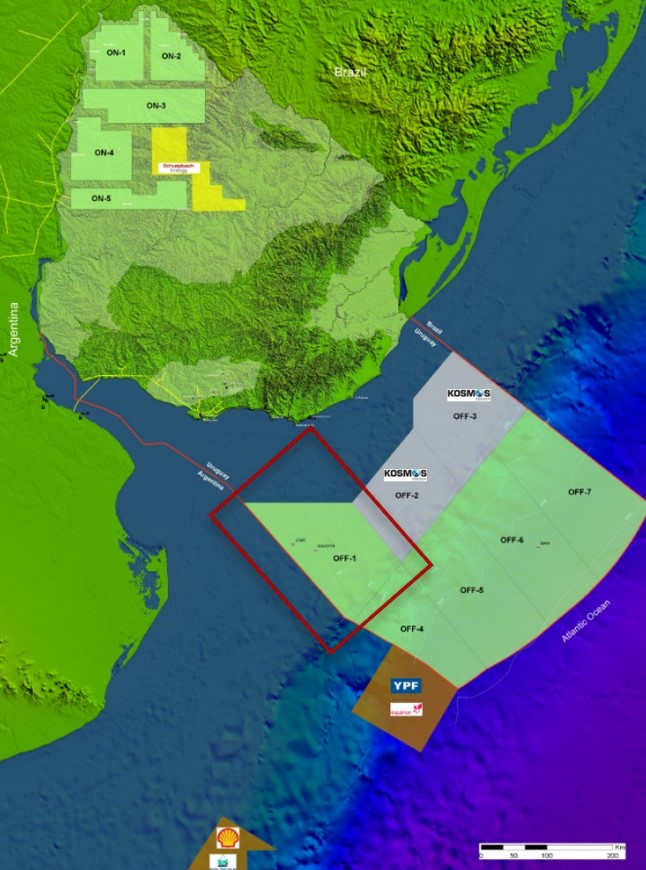 Location of OFF-1 licence; Source: Bahamas Petroleum