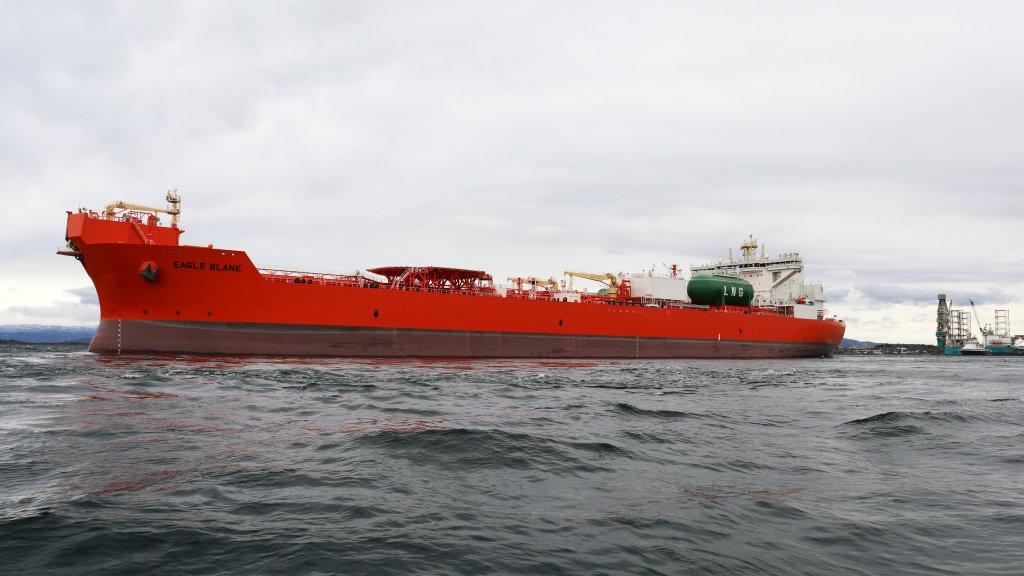 LNG-powered tanker Eagle Blane