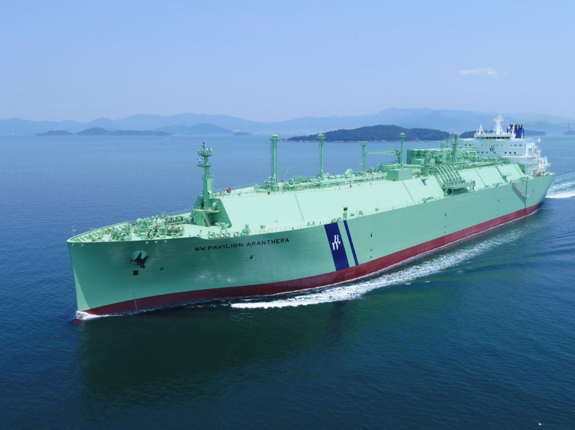 LNG carrier BW Pavilion Aranthera