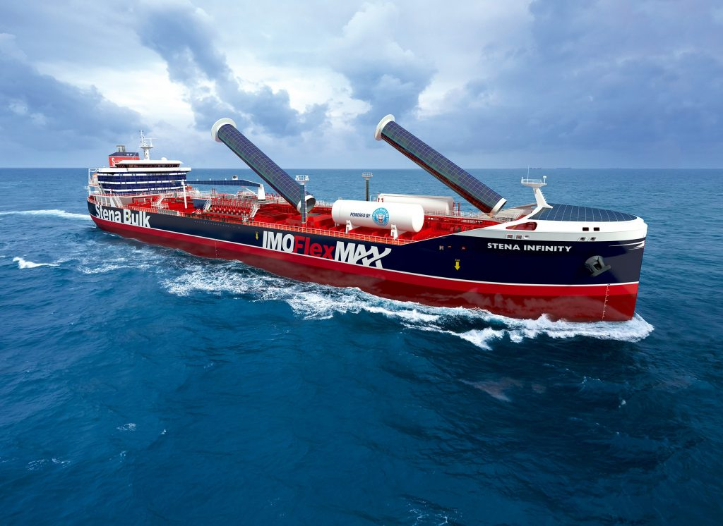 Stena Bulk develops new LNG-fueled tanker