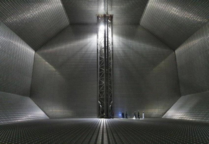 Inside Flex Aurora's LNG tank