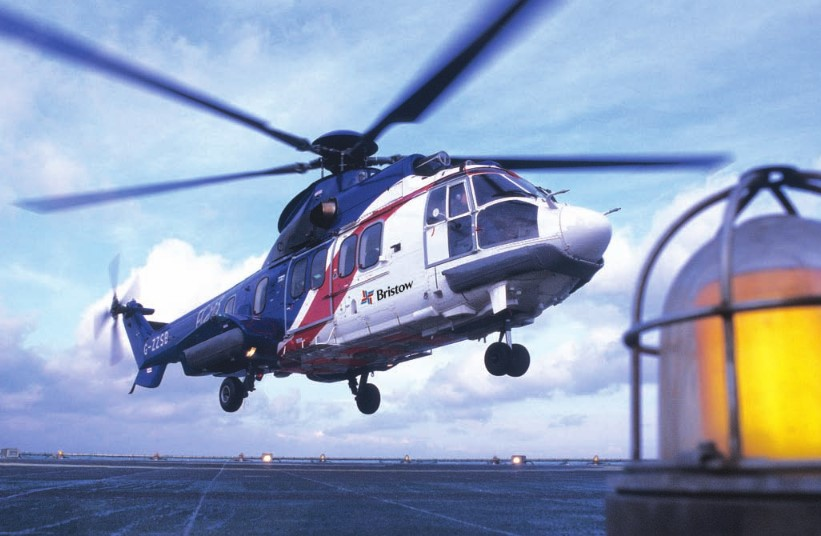 Bristow helicopter; Source: Bristow