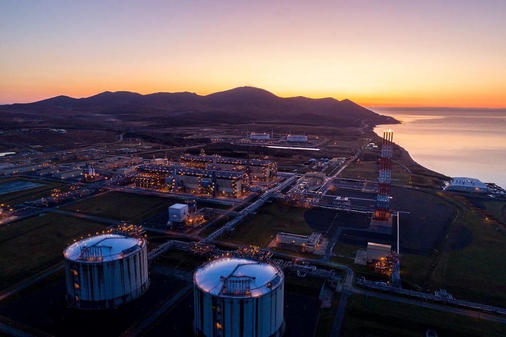 Sakhalin LNG plant