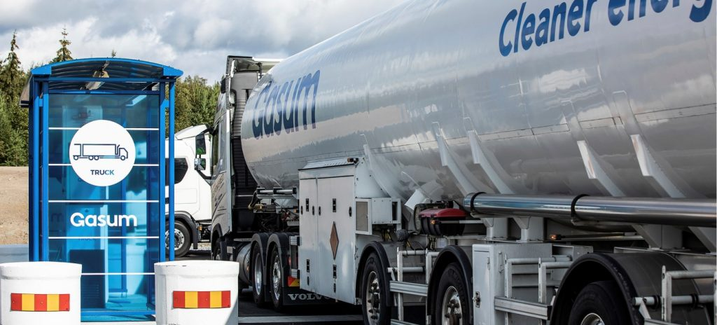 Gasum lines up four new LNG-fueling stations