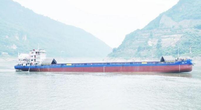 China's first hybrid inland vessel