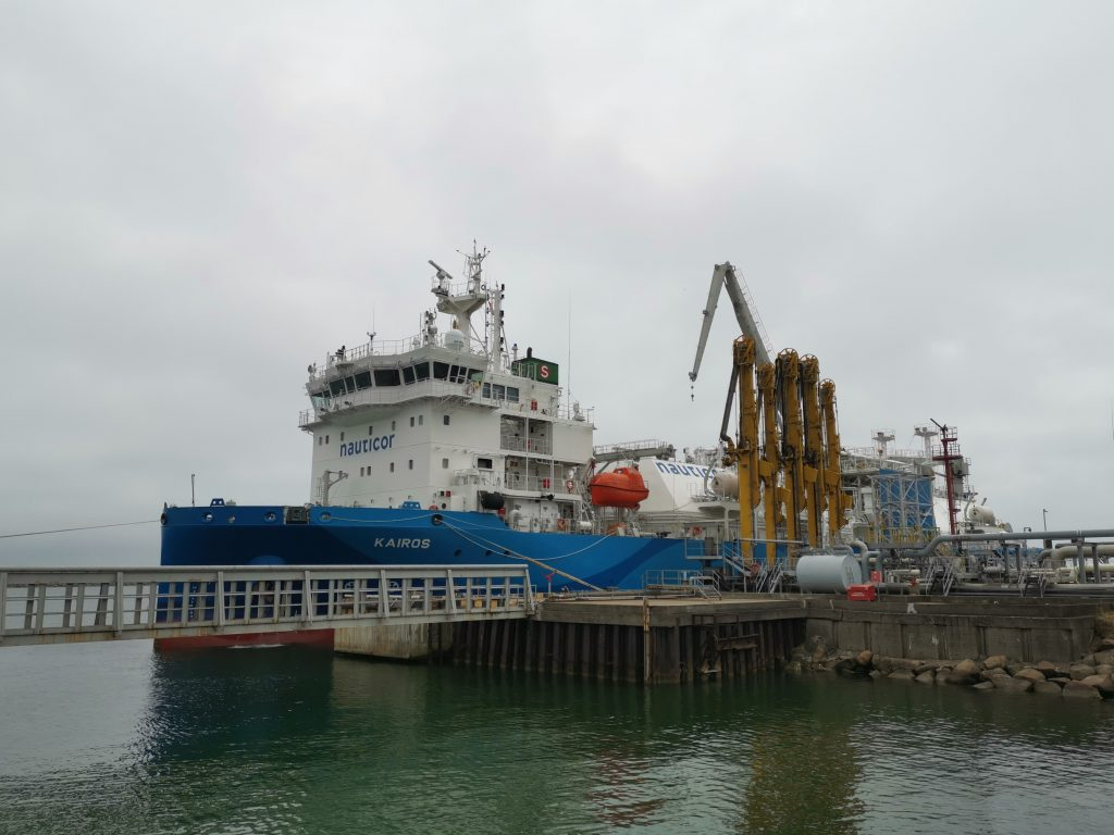 PGNiG gets first LNG load at Klaipeda onboard Kairos