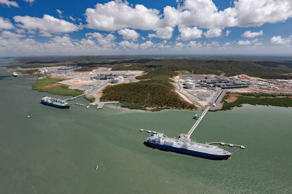 Gladstone LNG exports dip