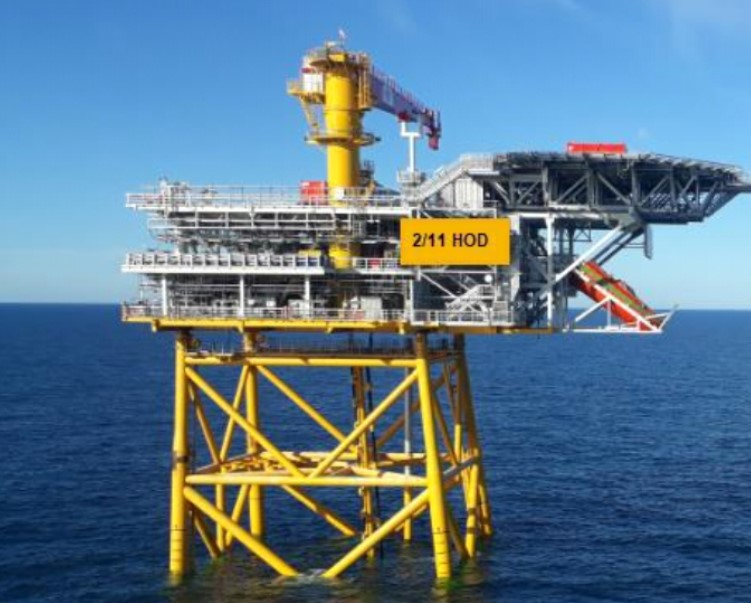 Aker BP Hod platform illustration; Source: Kvaerner