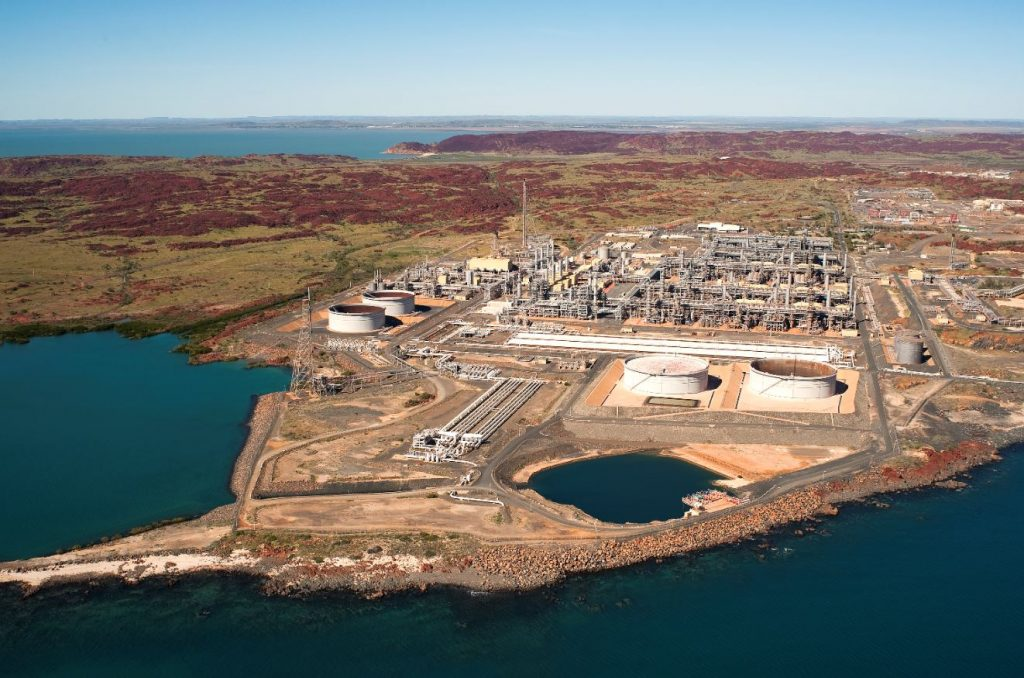Karratha gas plant, NWS project