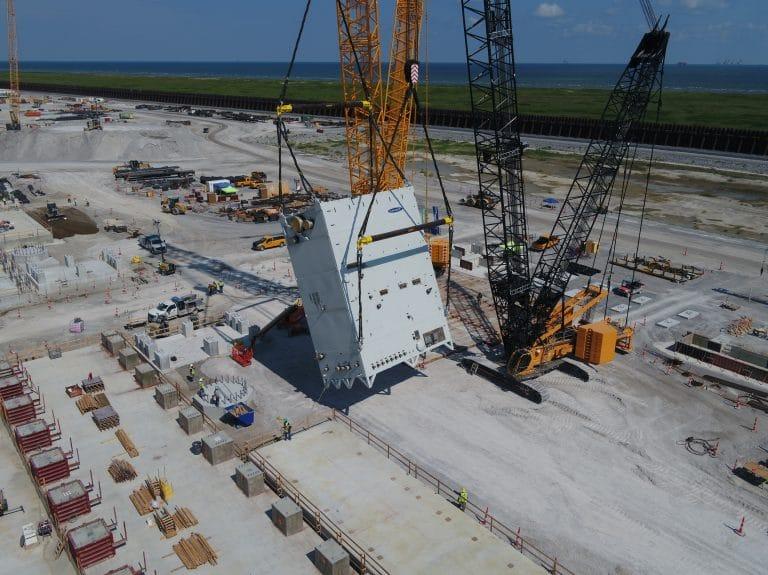 Calcasieu Pass LNG project gets liquefaction equipment