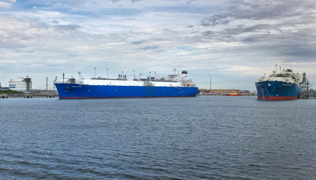 United States' LNG exports slip in April