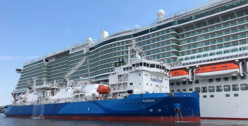 Gasum's Nauticor does first STS LNG bunkering of Iona