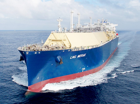 LNG Carrier Merak
